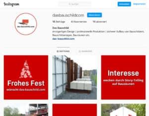 Instagram das-bauschild.com