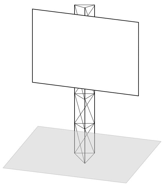 bauschild-1-Mast-Aufbau(c)das-bauschild.com